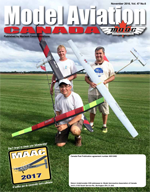 Model Aviation Canada (MAC) Magazine - November 2016
